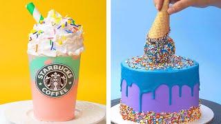 Amazing Starbucks Cake Ideas | Creative & Fun Cake Decorating Recipes | Top Yummy Cake Design Ideas