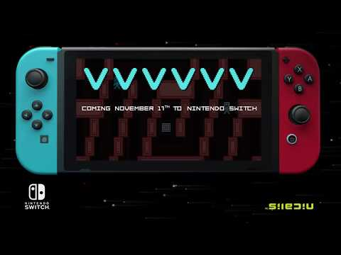 VVVVVV Nintendo Switch Release Date Trailer thumbnail