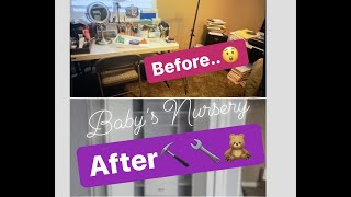 Getting baby's room ready!!
