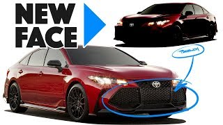 2020 Toyota Avalon Re-design: It's Getting Ridiculous!