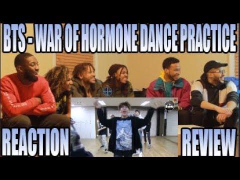 BTS 방탄소년단 - WAR OF HORMONE DANCE PRACTI   Youtube