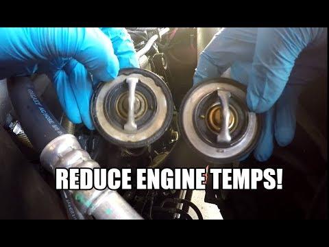 Dodge RAM 1500 HEMI 5.7L - 180 * Degree  Thermostat Install - HOW TO