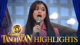 Tawag ng Tanghalan: Anne gets confused with the recipe of 'Embutido'