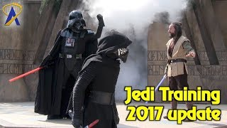 Jedi Training: Trials of the Temple - 2017 Updates at Disney's Hollywood Studios