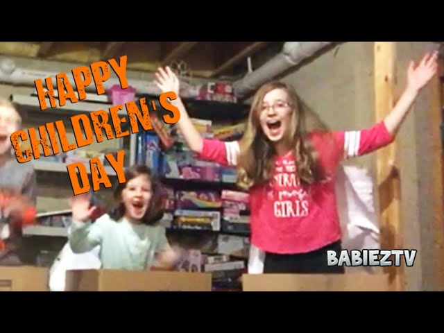 Happy children's day from Babieztv