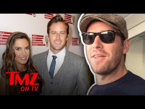 Armie Hammer Is One Hot Dude | TMZ TV