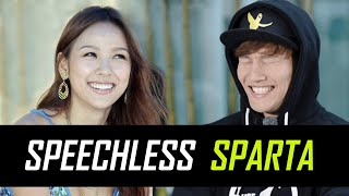 Queen Lee Hyori - The only one who can make Sparta Jong Kook speechless 😂😂