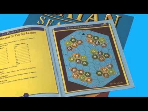 Catan 5 & 6 Player Extensions demonstration (Mayfair)