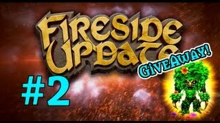 Fireside Update #2 - Wow Pet Giveaway, Raids, E-sports, and New Card Sets!!