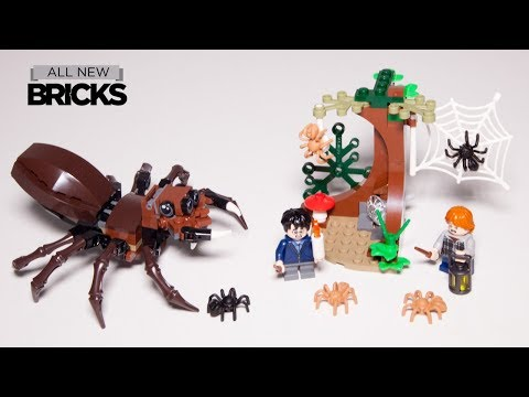 Vidéo LEGO Harry Potter 75950 : Le repaire d'Aragog