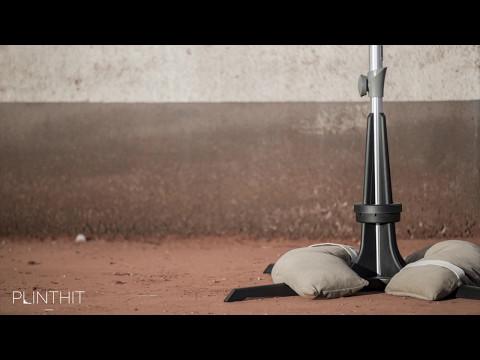 Der innovative Sonnenschirmständer von Plinthit