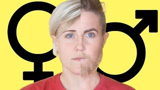 Gender Makeup Transformation! || Hannah Hart - Video Youtube
