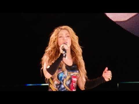 07.07.2018 Barcelona - Shakira, Nada (HD)