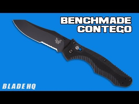"Benchmade 810BK Contego AXIS Lock Knife (3.98"" Black)"