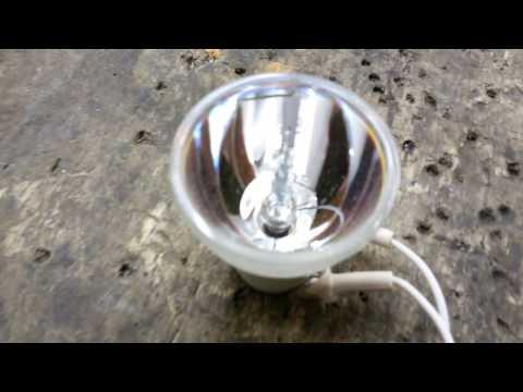 Beamerlampe Extremtest
