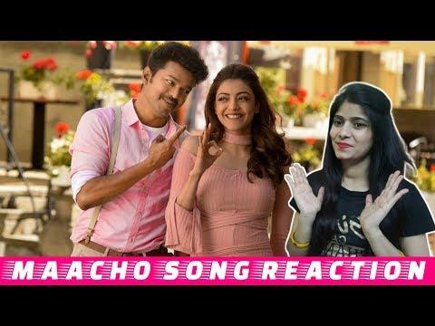 Mersal   Maacho Song Reaction   Thalapathy Vijay   Kajal Aggarwal   BollyReacts
