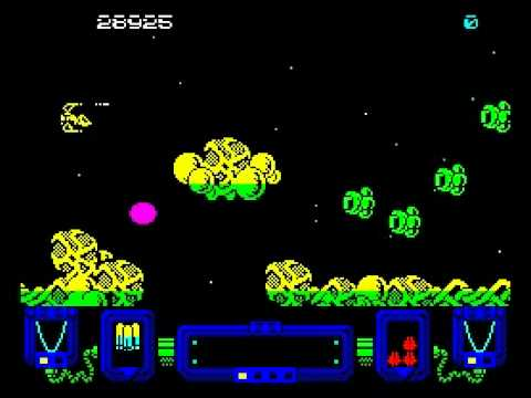 Zynaps Walkthrough, ZX Spectrum