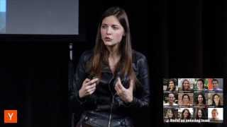 Kathryn Minshew at Female Founders Conference 2014
