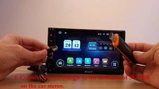 3G USB модем huawei e173 и магнитола на RockChip PX5