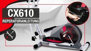 SPORTSTECH CX610 - Reparaturanleitung Riemen/maintenance/entretien/mantenimiento/manutenzione