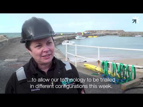 Ecosse IP Ambient Lifter field trial at Cullen Harbour