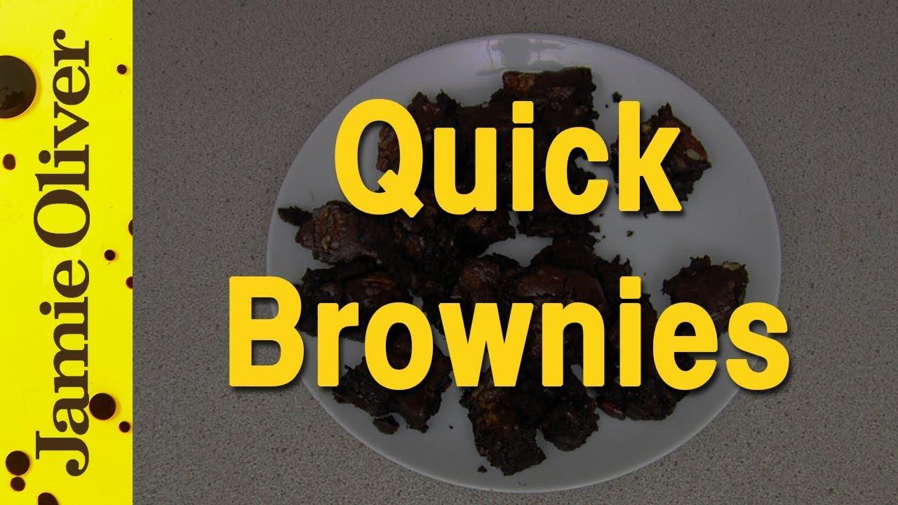 Jamie Oliver's Super-Quick Brownies
