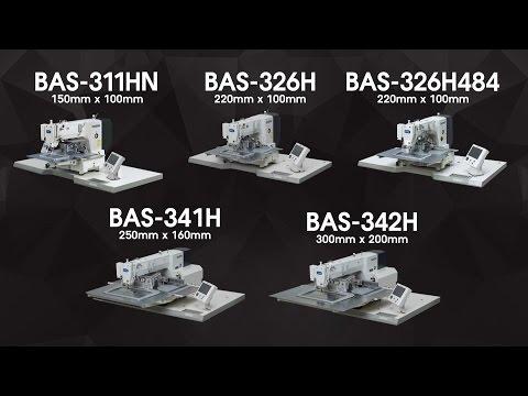 Programmierbare elektronische Muster-Nähmaschine BAS-H Serie