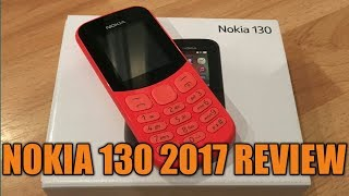 The New Nokia 130 2017 Review UK