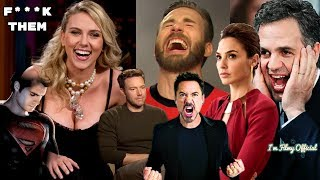 Avengers 4: End Game Cast Continuously Trolls Justice League - Hilarious Trash Talk😂😂