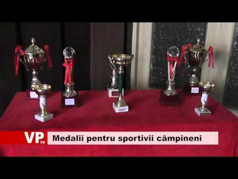 Medalii pentru sportivii câmpineni