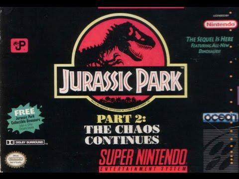 [Retro-Freitag] Jurassic Park 2 (Super Nintendo)