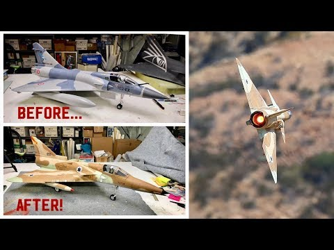freewing-mirage-to-kfir-conversion-quotspeed-buildquot-amp-flight-video-with-new-power-system