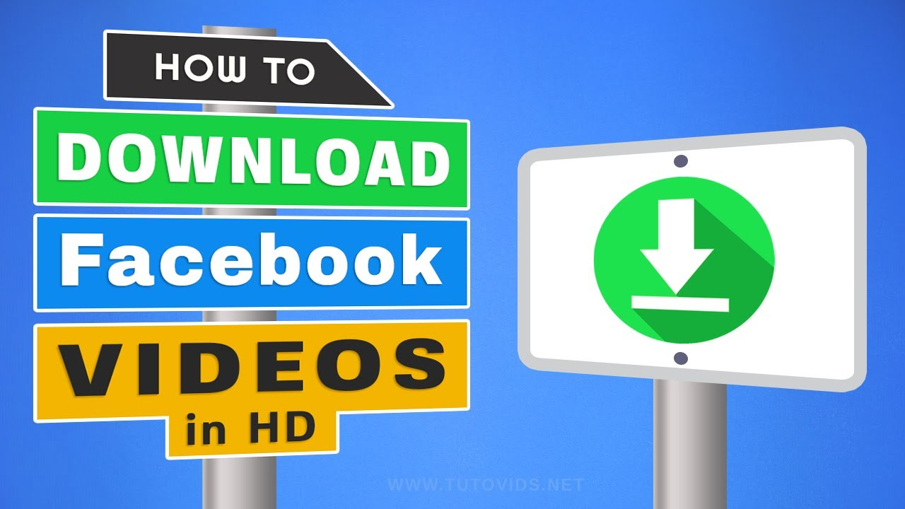 How to Download Facebook Video in HD Without Any Software