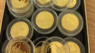 Полный набор монет, Пробники КАЗАХСТАНСКИХ МОНЕТ И ЗНАК 1 СЛЕТ N040 и N041 АУКЦИОН эфир интересно ИП