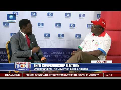 Kayode Fayemi: Governor-elect says he will review records of Fayose's government