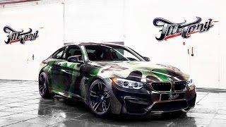 BMW M4 - камуфляж.