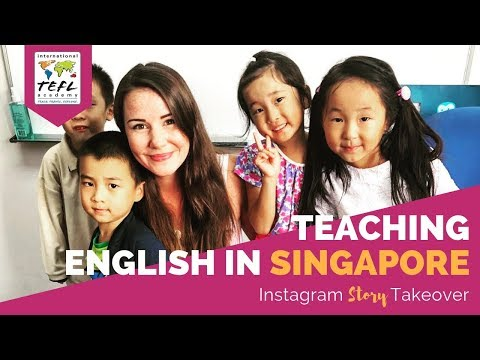 , title : 'Teaching English in Singapore with Kelsey Ax - TEFL Social Takeover