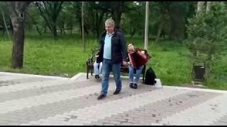Национальная музыка в парке Нальчика !!!