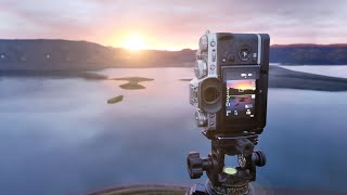 Hiking To Amazing Location For Landscape Photography