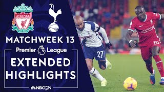 Liverpool v. Tottenham Hotspur | PREMIER LEAGUE HIGHLIGHTS | 12/16/2020 | NBC Sports