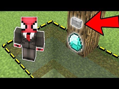 ÖRÜMCEK ADAM ın BEDAVA ELMAS AĞAÇ TUZAĞI - Minecraft