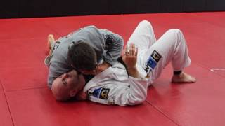 Stealthy Grip To Setup Baseball Choke From Side Control