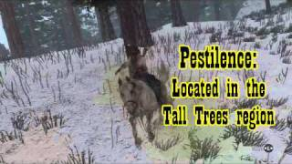 The Four Horses of the Apocalypse - RDR: Undead Nightmare - Locations and info