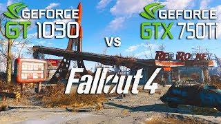 GT 1030 vs GTX 750 Ti in Fallout 4 (Pentium G4560)