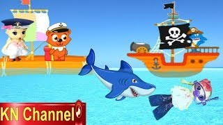 Trò chơi KN Channel BÚP BÊ TẬP LÀM LÍNH CỨU HỘ TRÊN BIỂN | THỦY THỦ CHIBI TRẮNG LÀM NHIỆM VỤ