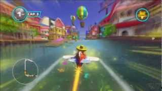 Sonic & All-Stars Racing Transformed - Tracks: Samba Studios