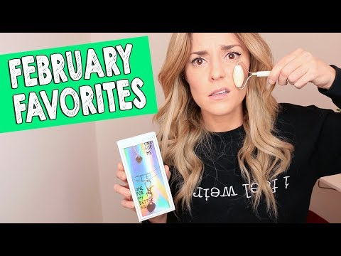 FEBRUARY FAVORITES + AN ANNOUNCEMENT // Grace Helbig