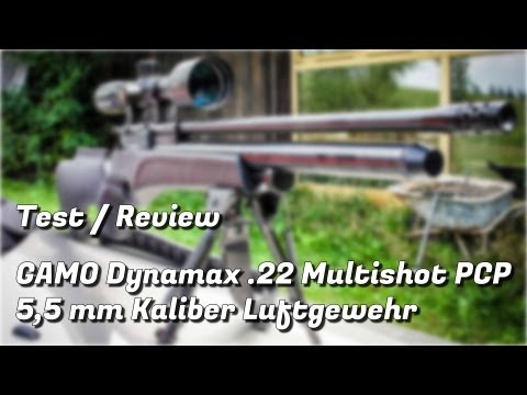 Gamo Dynamax .22 Multishot PCP Luftgewehr Testbericht / Review
