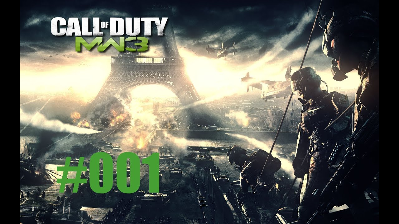 Lets Play CoD MW3 Multiplayer #001 - Lasst uns flamen!