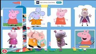 Peppa Jigsaw Puzzle - Układanie puzzli dla najmłodszych